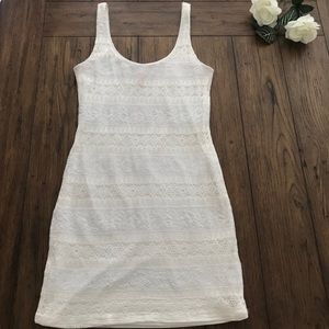 Eight Sixty White Lace Dress